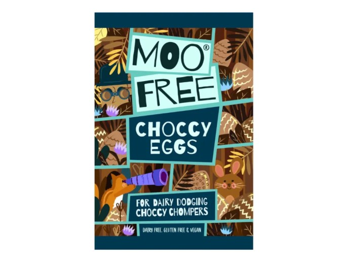 Moo Free Mini Vegan Milk Chocolate Eggs Easter Candy
