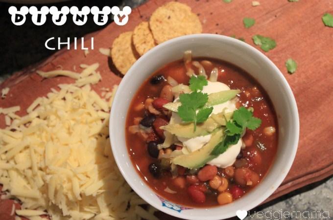 Disney World chili recipe | Veggie Mama