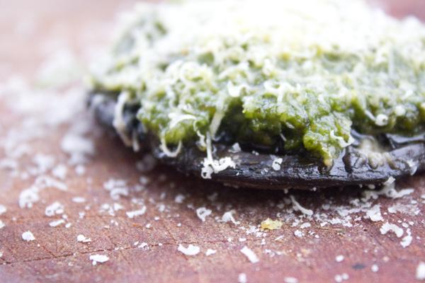 stuffed mushroom crust