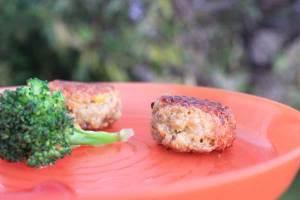 Carrot and avocado quinoa bites