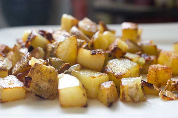 Weekend brunch: home fries