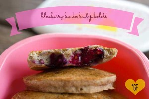 Blueberry Buckwheat Pikelets