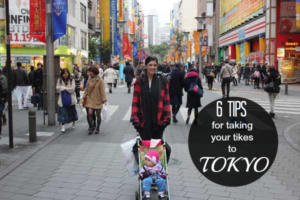 taking tikes to tokyo