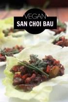 Vegan san choi bau