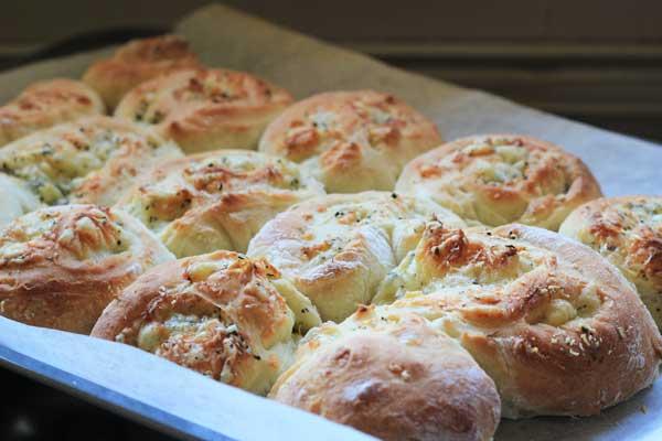 easy cheese scroll recipe | Veggie Mama
