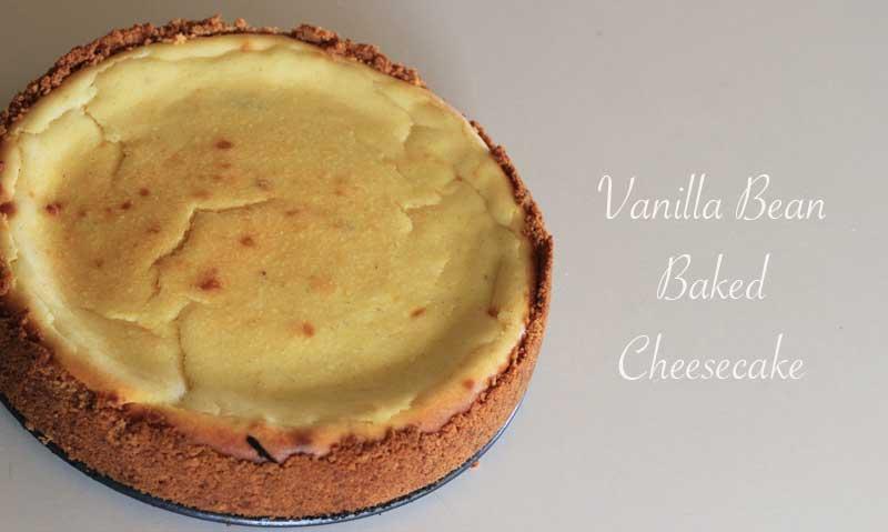 vanilla-bean-baked-cheesecake