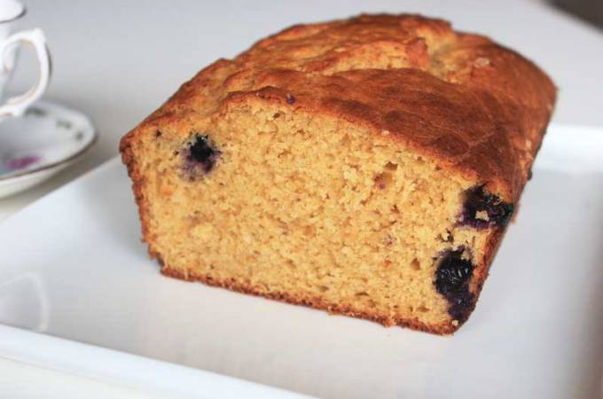 Blueberry Yogurt Cake
