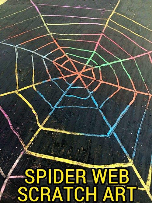 Spider-web-scratch-art-for-Halloween