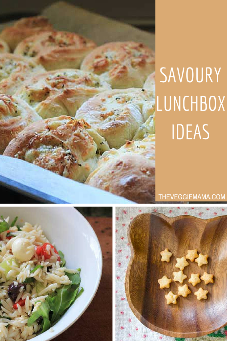 School lunchbox ideas - the savoury edition! Plenty can be frozen in advance, too.