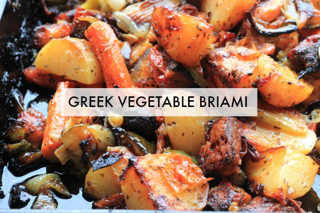 Briami (Greek Vegetable Stew) Recipe