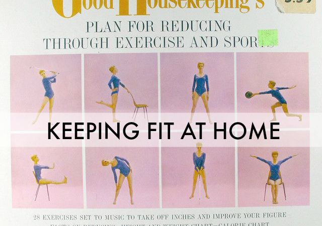 Easy Ways to Keep Fit at Home