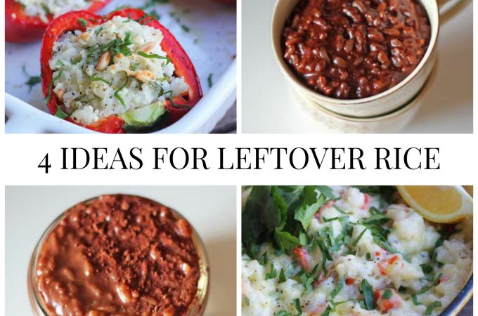 4 Ideas for Leftover Rice