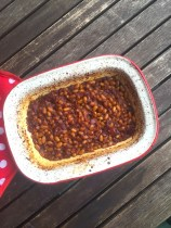 Homemade Smoky Baked Barbecue Beans