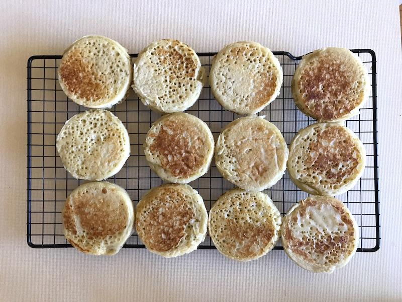 Veggie Mama Crumpet Recipe (go on, make it - it's delicious!)
