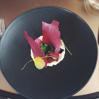 beetroot and ricotta salad