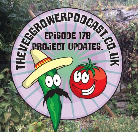 Join me in this weeks podcast where I discuss a few updates to some projects I have been running. I also have been chatting to the skinny jean gardener and share the latest on the plots.