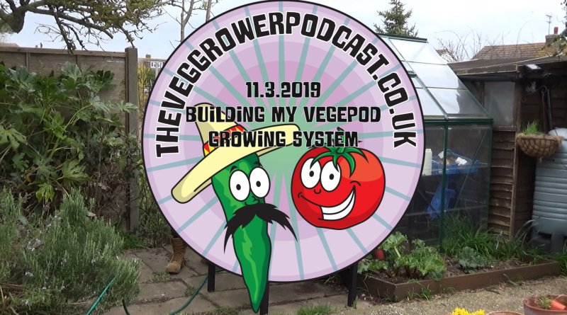 This weeks video has arrived and in it I build my new vegepod growing system. How easy is it to transport and build we will find out in this video.