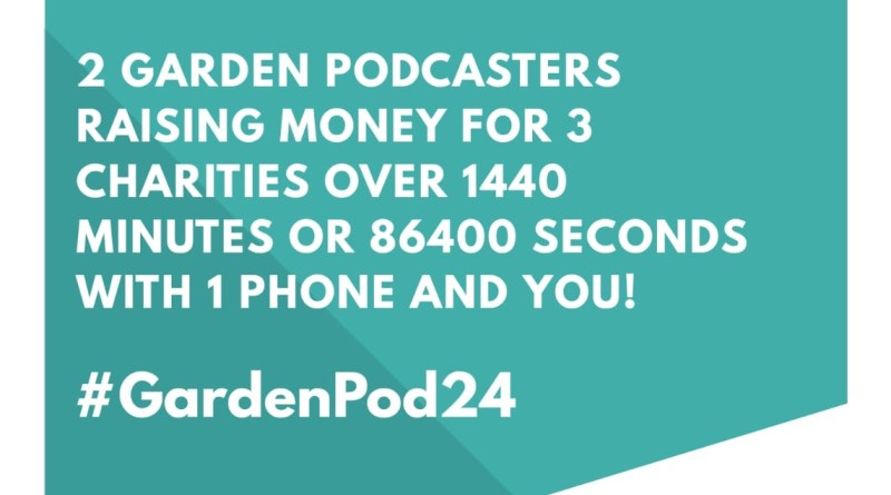 the dates set for our 24 hour podcast live stream in aid for 3 charities but we need your help too. details in this blog post.