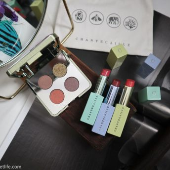 Chantecaille Butterfly Collection Spring 2021 review swatches Butterfly quartet, Lip Chic