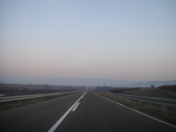 Serbian roads are excellent