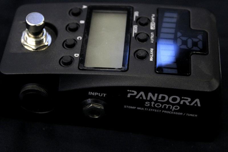 Korg Pandora Stomp Noir