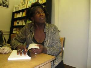 Wanda Coleman at Beyond Baroque 2011 book release party
