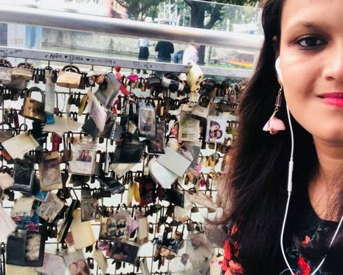 Lock Your Love at Singapore River