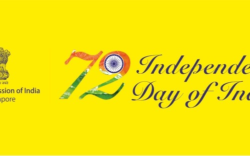 High Commission of India in Singapore Gave Us A Happy Independence Day