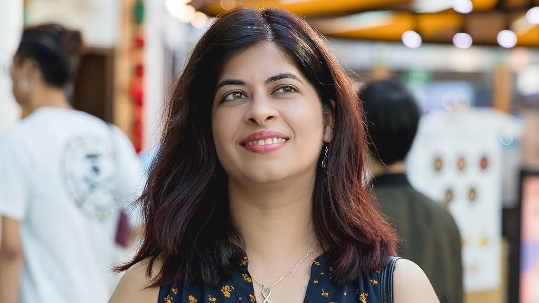 This expat became a peer leader in Singapore by using technology to build communities