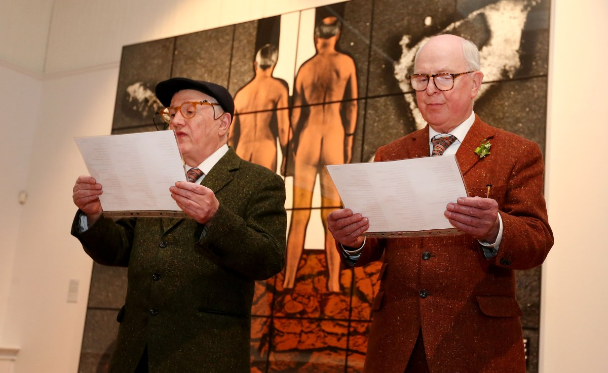 REVIEW: Gilbert & George: In Conversation @ Brighton Pavilion, 09/05/18
