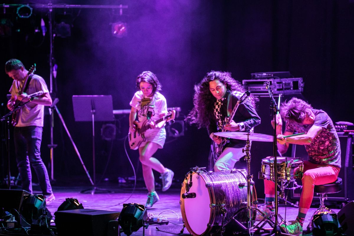 REVIEW: Deerhoof & Stargaze @ The Brighton Dome, 09/05/18