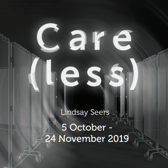 Care(less) exhibition poster.