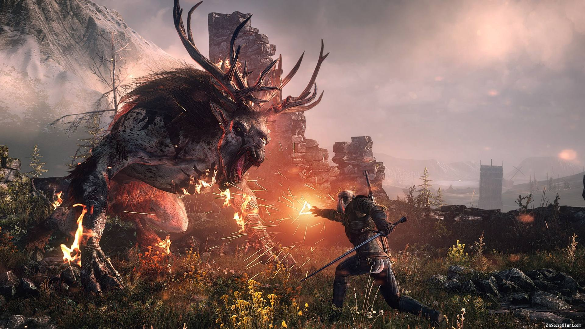 The Witcher 3 Wild Hunt Game Of The Year Trailer