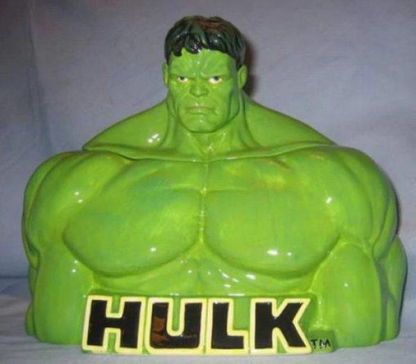Incredible Hulk Cookie Jar