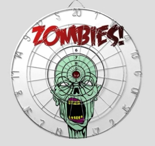 Zombie Dartboard