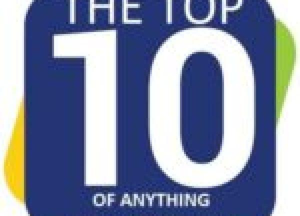 Ten Animals on Ladders Doing a Little Bit of DIY