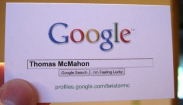 Thomas McMahon business card