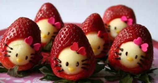 Hello Kitty Strawberries