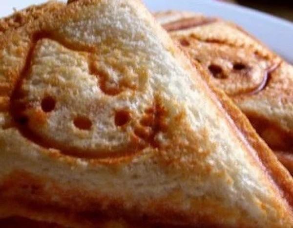 Hello Kitty Hot Toasted Sandwich Maker