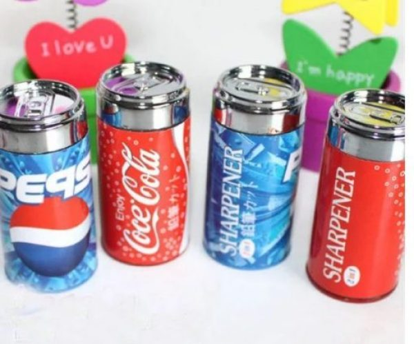 Cola, Pepsi Pencil Sharpeners