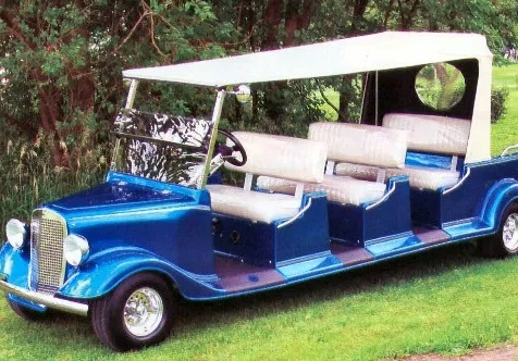 Limo Golf Cart