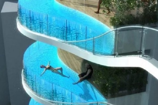 Ten Crazy Amazing And Unusual Swimming Pools