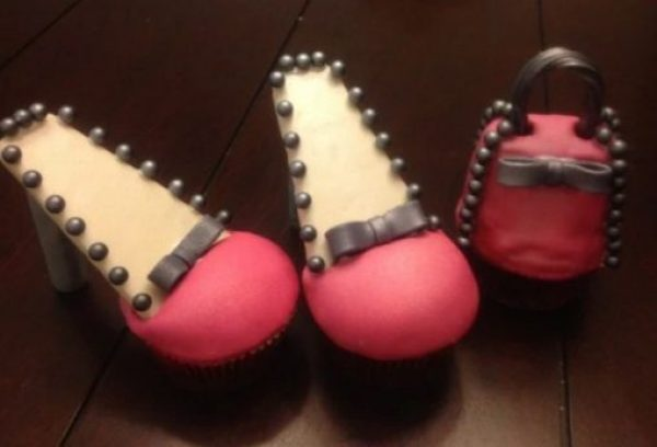 Pink High Heels Cupcakes