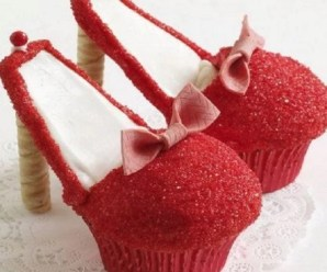 Ten of the Very Best Designs and Recipes for High Heel Cupcakes