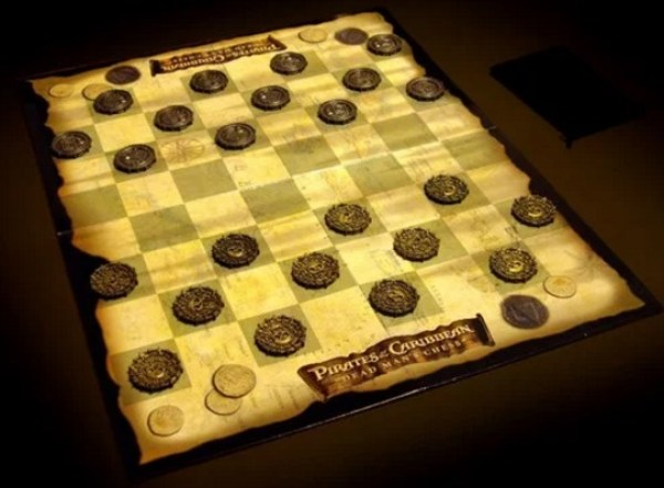Pirates of the Caribbean Checkers Set