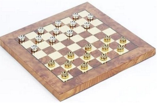 Bello Games Eleganza Checkers Set