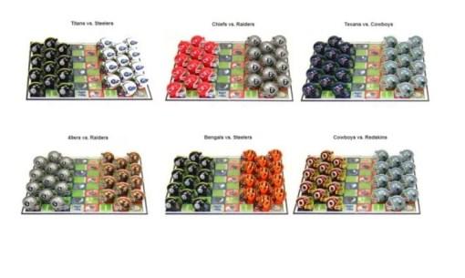 NFL Checker Sets