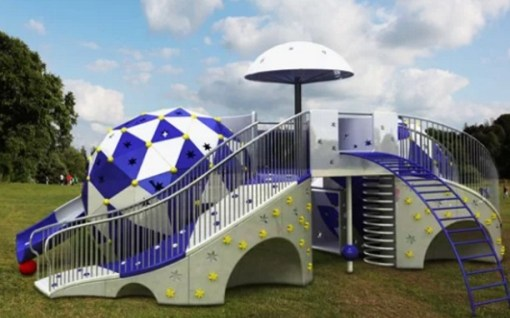 Star Designed Children's Playgrounds