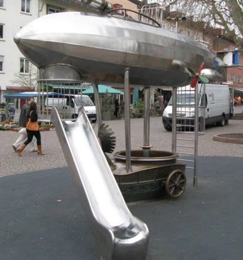 Steampunk Children's Playgrounds
