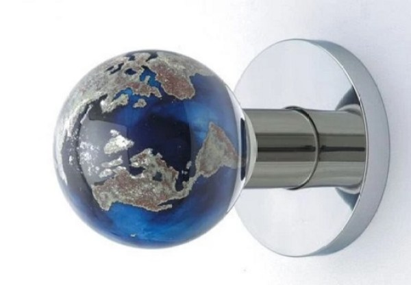 World Globe Door Knob